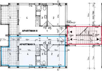 Prodajemo Apartmane Novalja